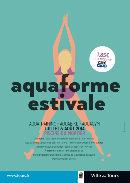 Actualites archives tours piscine du mortier aquaforme estivale - Piscine du mortier ...